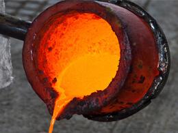 Fonderie de métaux domestique
