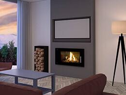 Installer une télévision au-dessus d'une cheminée