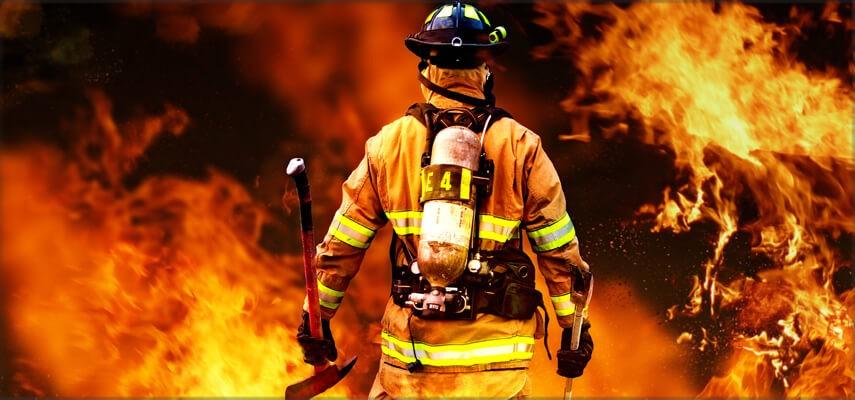 Protection contre le feu