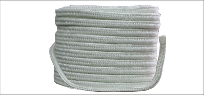 Paquet de corde en fibre de verre carrée