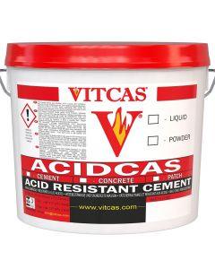 Ciment / Mortier Acidcas (25kg+Liquide) - VITCAS