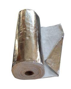 Isolation Recouverte d'Aluminium – Enveloppe pour Conduit 1m x 12mm par mètre - VITCAS