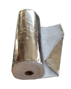 Couverture de Cheminée en Aluminium Recouvert d'Isolant - 1M x12mm - VITCAS