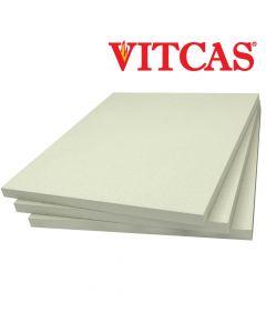 Plaque de Fibre en Céramique 1260 C-VITCAS Plaque Isolante - VITCAS