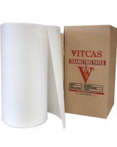 Papier en fibres de céramique 1260°C - VITCAS