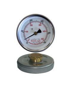 Thermomètre pour porte de four 0°C – 500°C - VITCAS