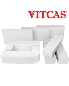 Vitcas briques colorées carrées - VITCAS