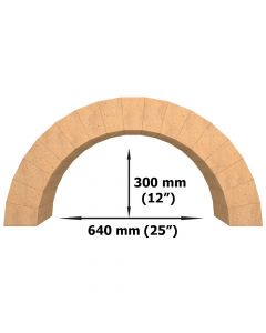 Arche en Briques Réfractaires Set de 17 briques - VITCAS