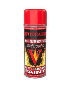 Peinture Aérosol Thermorésistante – Rouge - VITCAS