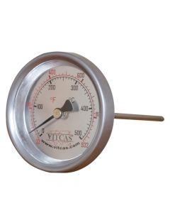 Thermomètre pour four à sonde 0°C – 500°C - VITCAS