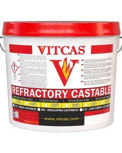 Vitcas matière réfractable 1600-Béton Réfractaire - VITCAS