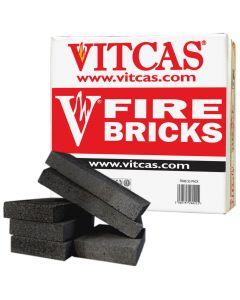 Briques Réfractaires VITCAS 6 Noir pour Poêles et Cheminées - VITCAS
