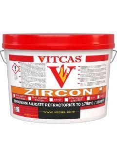 Poudre d'enduit de Doublure en Zircon 1750°C - VITCAS