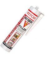 HRF – Enduit réfractaire de rebouchage 1000°C -Blanc - VITCAS