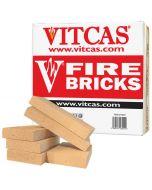 Boîte de 6 Briques Réfractaires de Remplacement VITCAS pour Poêles et Cheminées - VITCAS
