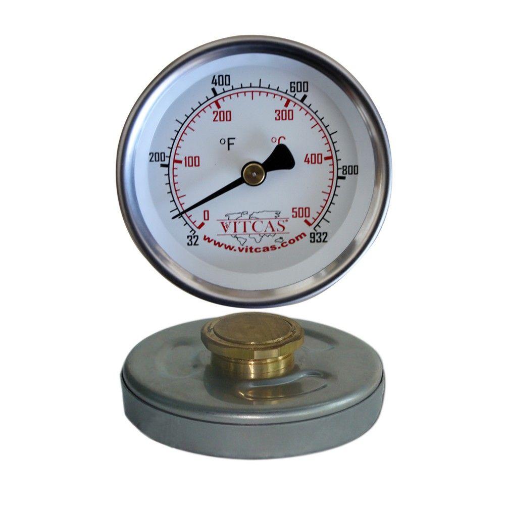 Thermomètre Four À Pain 500 thermomètre pour porte de four 0°c – 500°c