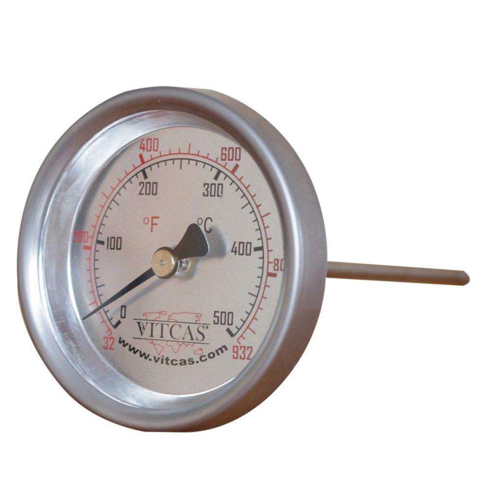 Thermomètre Four À Pain 500 thermomètre pour four à sonde 0°c – 500°c